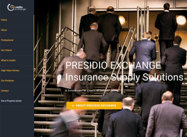 Presidio Exchange Insurance Solutions