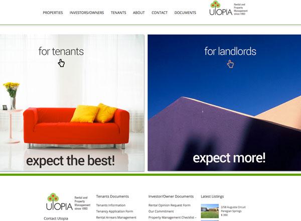 Utopia Property Rentals Sunshine Coast