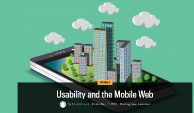 Usability Mobile Web